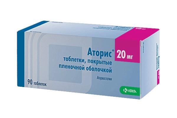 Аторис применяют для снижения холестерина
