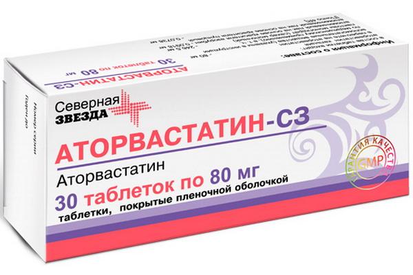 Аторвастатин СЗ для снижения уровня холестерина в крови