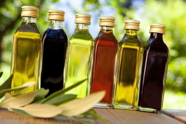 Разновидности растительных масел