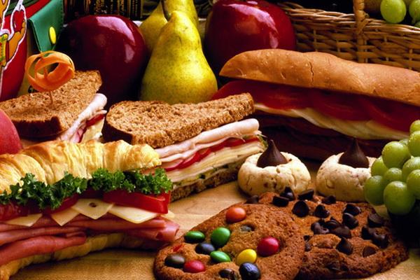 Холестерол и вредная еда