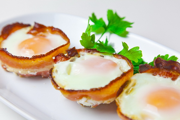 Холестерин в жаренных куриных яйцах