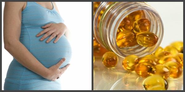 Омега-3 необходимы организму женщины во время беременности