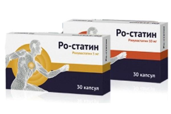 Ро-статин – новейший препарат из группы статинов