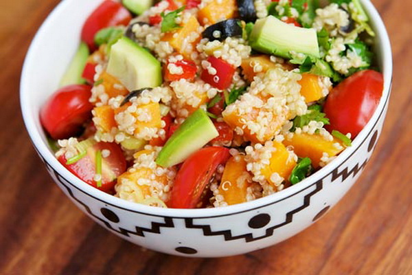 Салат против холестерина