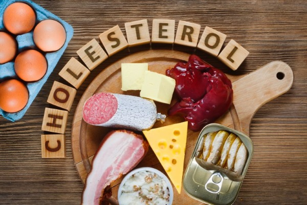 Продукты питания, содержащие холестерин