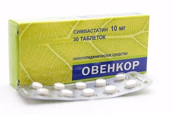Овенокр (симвастатин)