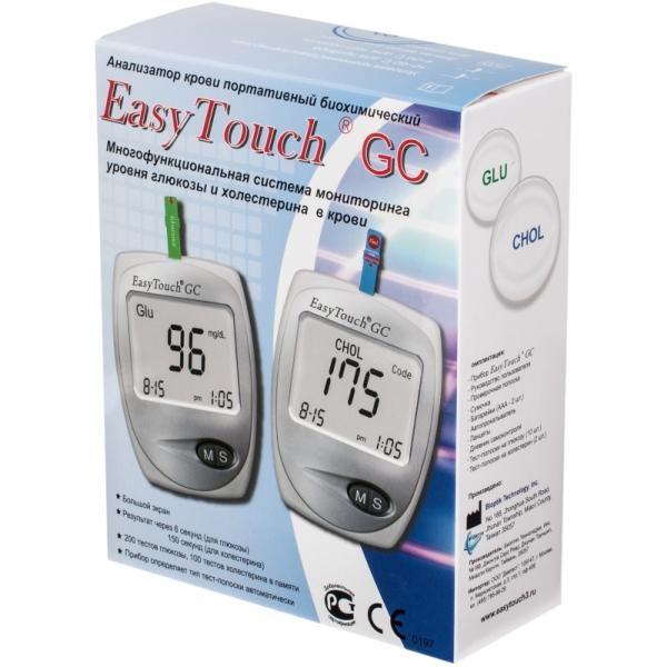 Система мониторинга уровня глюкозы и холестерина