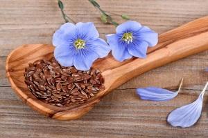 Семена льна при высоком уровне холестерина
