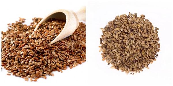 Семена льна и расторопши для очищения печени