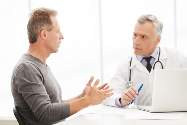 На консультации у терапевта