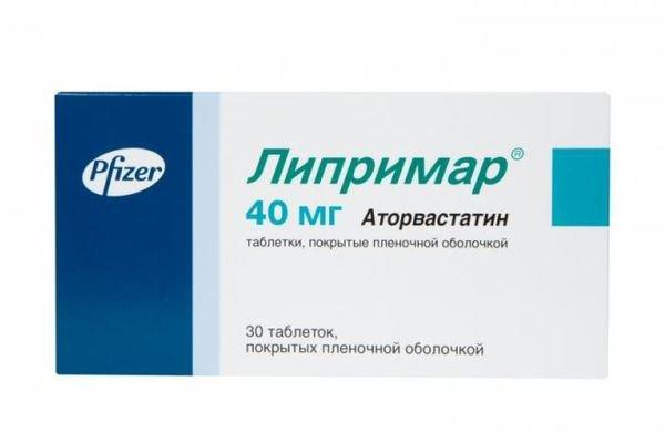 Липримар таблетки 40 мг, 30 шт.