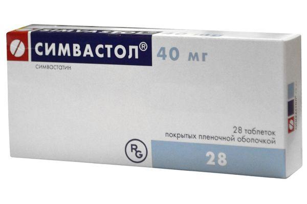 Лекарственный препарат Симвастол