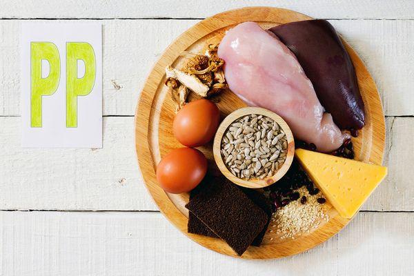 Продукты, содержащие витамин пп