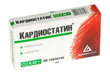 Кардиостатин: показания к назначению, дозировка и сроки приема