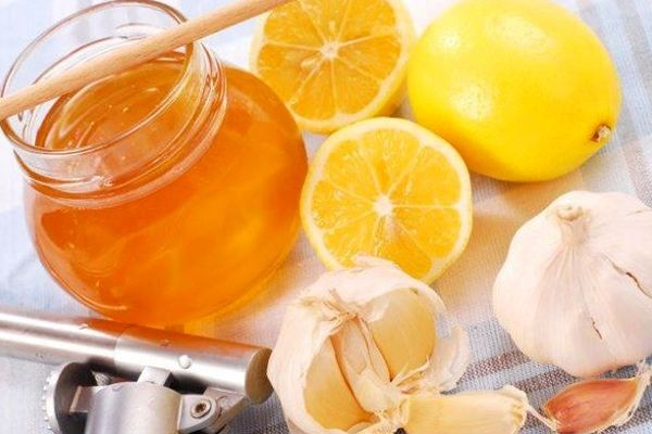 Настой чеснока на лимоне