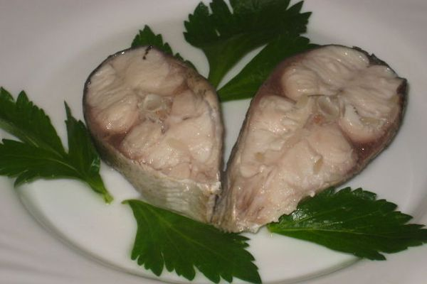 Вареная рыба