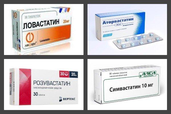 Препараты из группы статинов